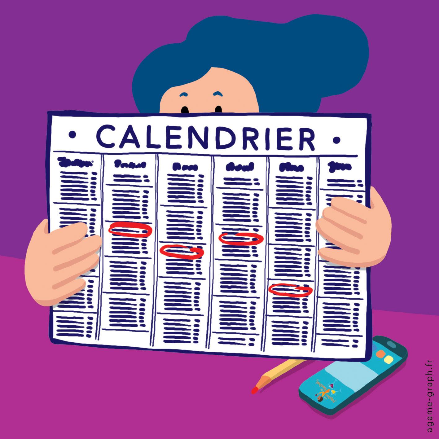 2.calendrier