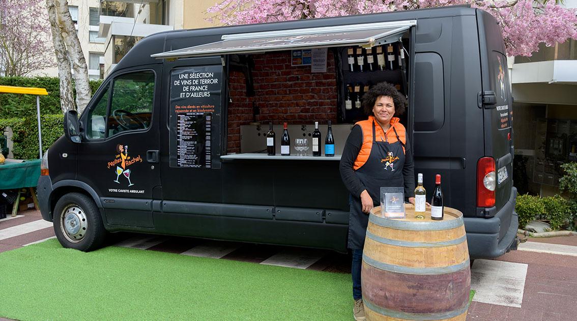 Pépites de Rachel-Wine truck